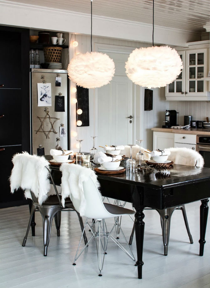 10 Modern Black and White Dining Room Sets That Will Inspire You (2) dining room sets 10 Modern Black and White Dining Room Sets That Will Inspire You 10 Modern Black and White Dining Room Sets That Will Inspire You 4