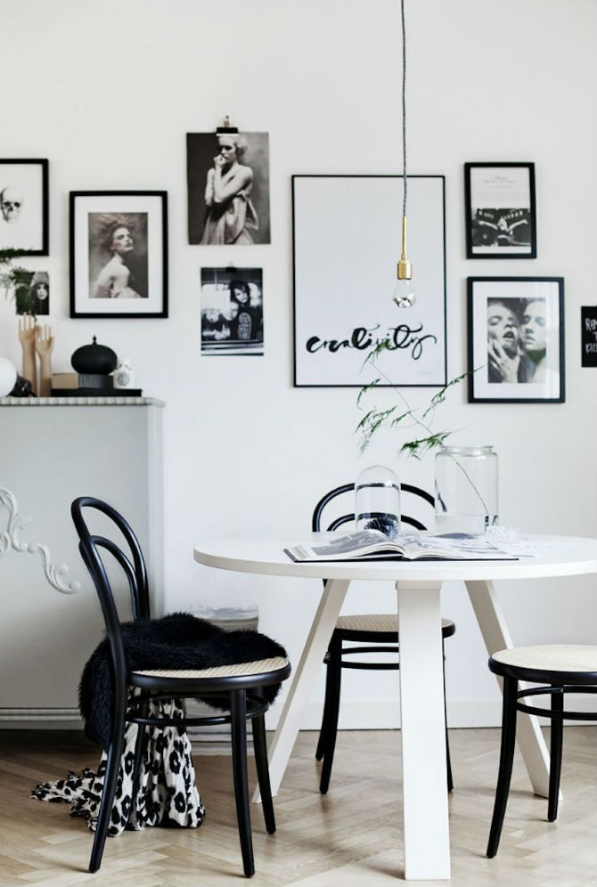 10 Modern Black and White Dining Room Sets That Will Inspire You (2) dining room sets 10 Modern Black and White Dining Room Sets That Will Inspire You 10 Modern Black and White Dining Room Sets That Will Inspire You