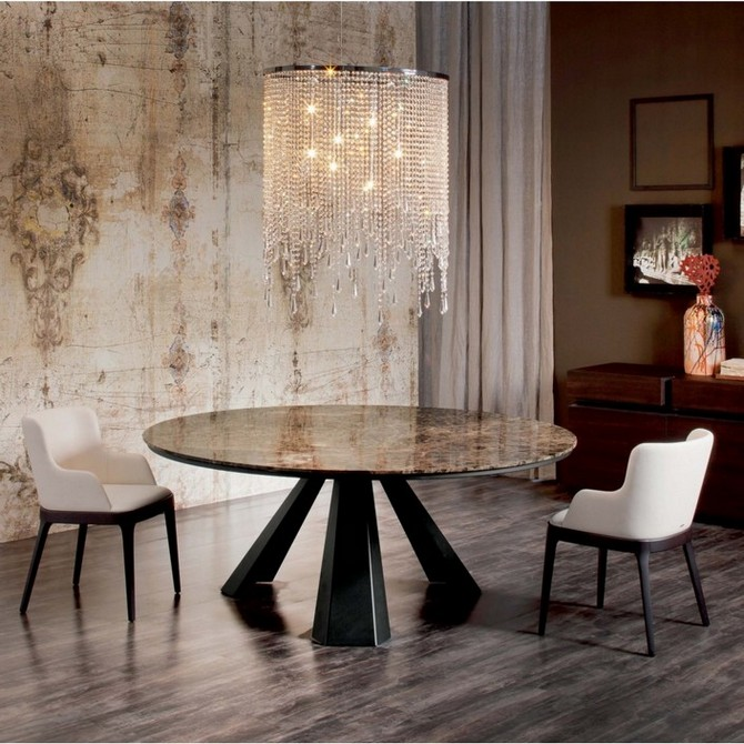 round pedestal dining room table with wood top dining room tables Dining Room Design Ideas: 10 Inspiring dining room tables-part II Dining Room Design Ideas 10 Inspiration dining room tables part II Round wood dining tables 3
