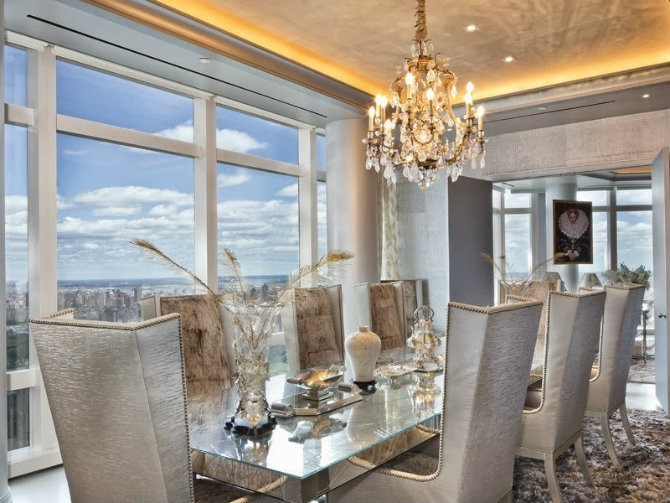 Columbus-circle-dining-room-city-apartment-new-york Dining room decorating ideas Dining room decorating ideas by Donna Mondi Interior Design Dining room decorating ideas by Donna Mondi Interior Design Columbus circle dining room city apartment new york