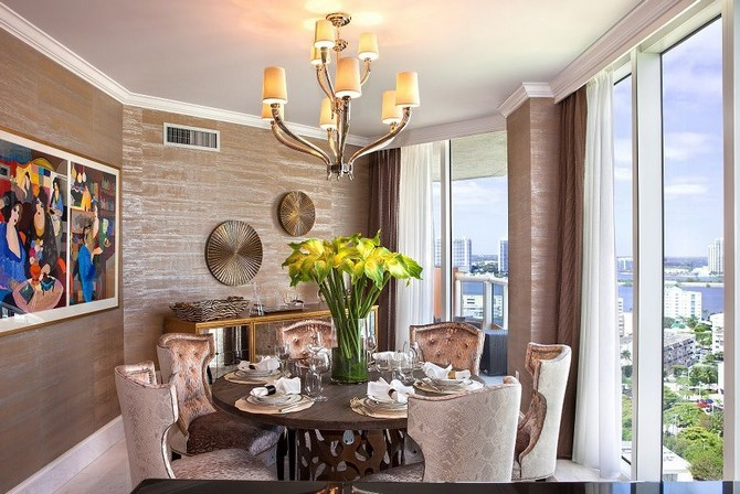Dining room decorating ideas by Sarah Z Designs