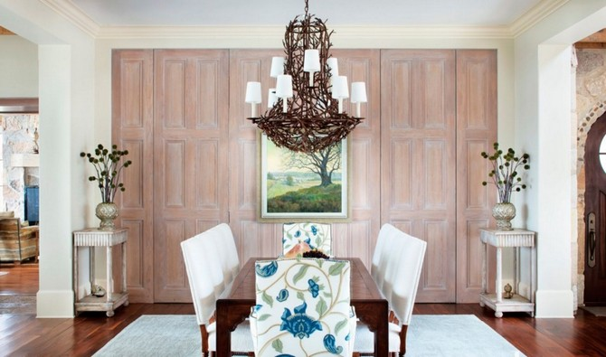 Contemporary Neutral Dining Room Idea Interior Design 10