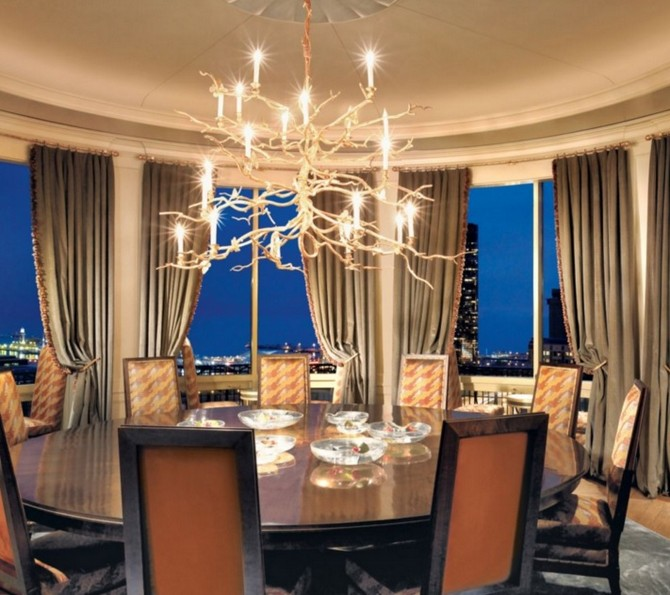 Traditional Neutral Dining Room with Branch Chandelier dining room interior design Dining room interior design: 10 neutral dining room ideas Dining room interior design 10 neutral dining room ideas 8