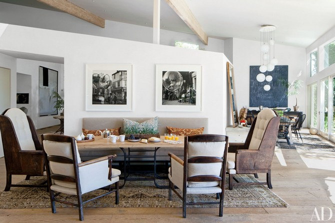 Patrick Dempsey dining room decorated by Estee Stanley Interior Design Dining room sets Dining room sets – best celebrities dining room ideas Dining room sets     best celebrities dining room ideas 1