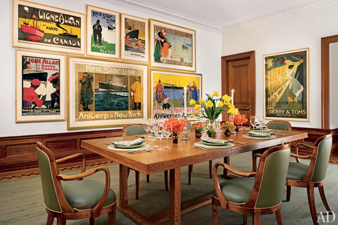 Leonard Lauder dining room decorated by Marjorie Reed Gordon Dining room sets Dining room sets – best celebrities dining room ideas Dining room sets     best celebrities dining room ideas 15
