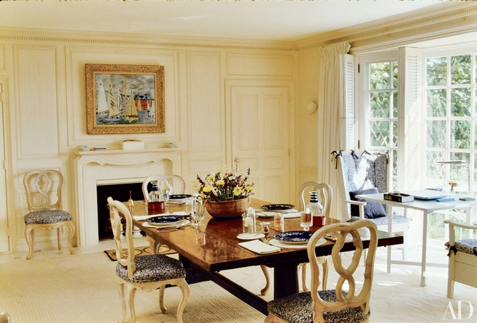 Bunny Mellon dining room decor designed by Bruce Budd Dining room sets Dining room sets – best celebrities dining room ideas Dining room sets     best celebrities dining room ideas 4