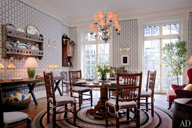 Woody Allen dining room decorated by Stephen Shadley Dining room sets Dining room sets – best celebrities dining room ideas Dining room sets     best celebrities dining room ideas 9