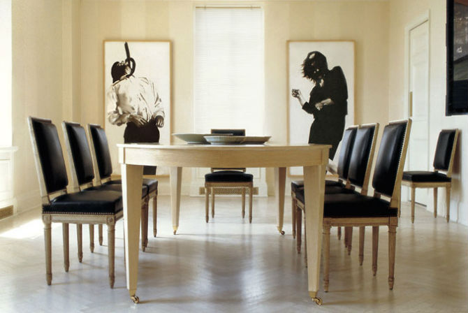 Luxurious Dining Room Sets by Peter Marino (2) Dining Room Sets Luxurious Dining Room Sets by Peter Marino Luxurious Dining Room Sets by Peter Marino 6