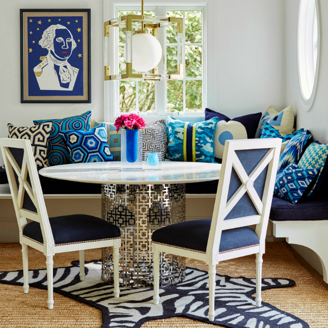 dining room ideas blue dining room 10 Stylish Blue Dining Room Ideas blue dining room 1111