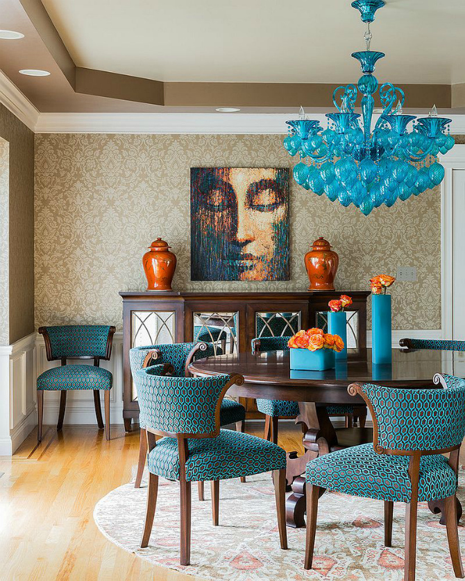 dining room ideas blue dining room 10 Stylish Blue Dining Room Ideas blue dining room 12