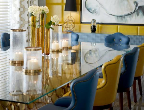 Blue Dining Room Dining Room Ideas