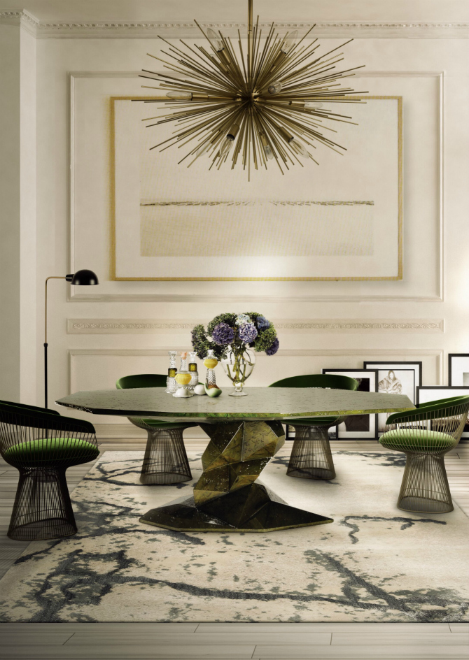 8 Round Dining Table Ideas For A Unique Room dining table ideas 10 Round Dining Table Ideas For A Unique Room boca do lobo dining room table 1
