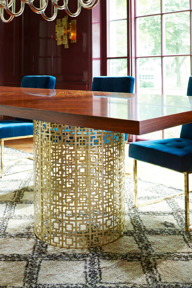 9 Rectangular Dining Tables That Steal The Show rectangular dining tables 9 Rectangular Dining Tables That Steal The Show dining table ideas 5 1