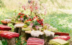 How to Decorate a Dining Room on Your Garden
