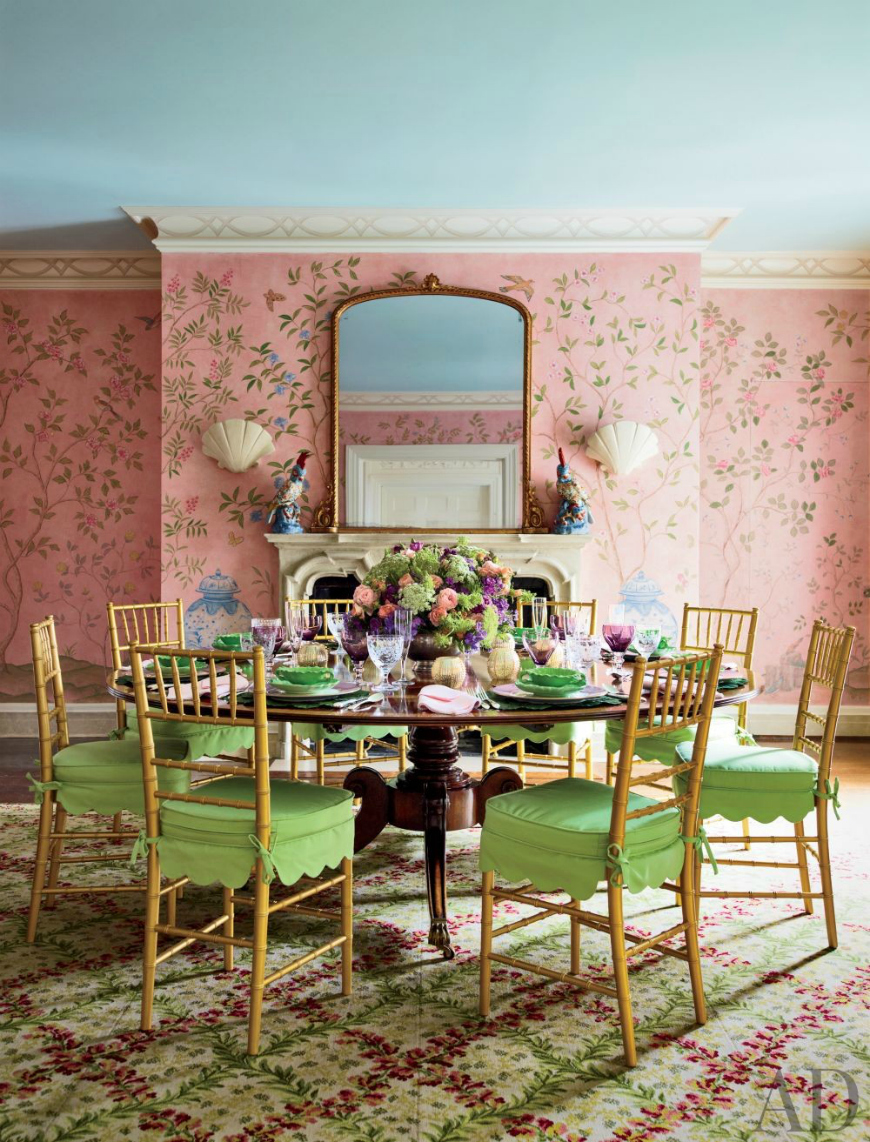 Get inspired by these wonderful traditional dining room for Most beautiful dining rooms
