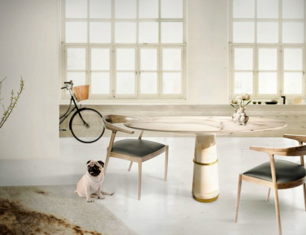 5 Dining Room Table Designs From Brabbu That Will Delight You