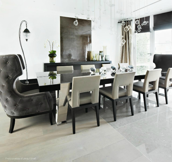 Beautiful Neutral Dining Room Ideas by Kelly Hoppen dining room ideas Beautiful Neutral Dining Room Ideas by Kelly Hoppen kelly hoppen 4