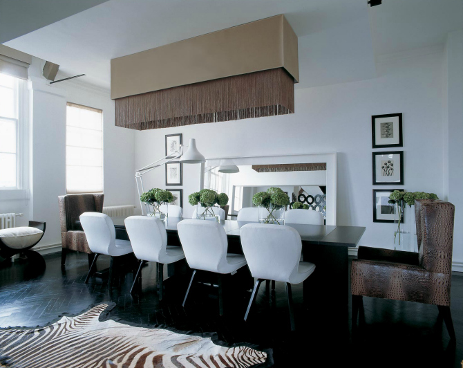 Beautiful Neutral Dining Room Ideas by Kelly Hoppen dining room ideas Beautiful Neutral Dining Room Ideas by Kelly Hoppen kelly hoppen 5