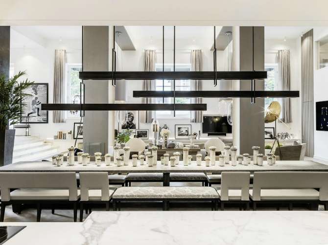 Beautiful Neutral Dining Room Ideas by Kelly Hoppen dining room ideas Beautiful Neutral Dining Room Ideas by Kelly Hoppen kelly hoppen 8