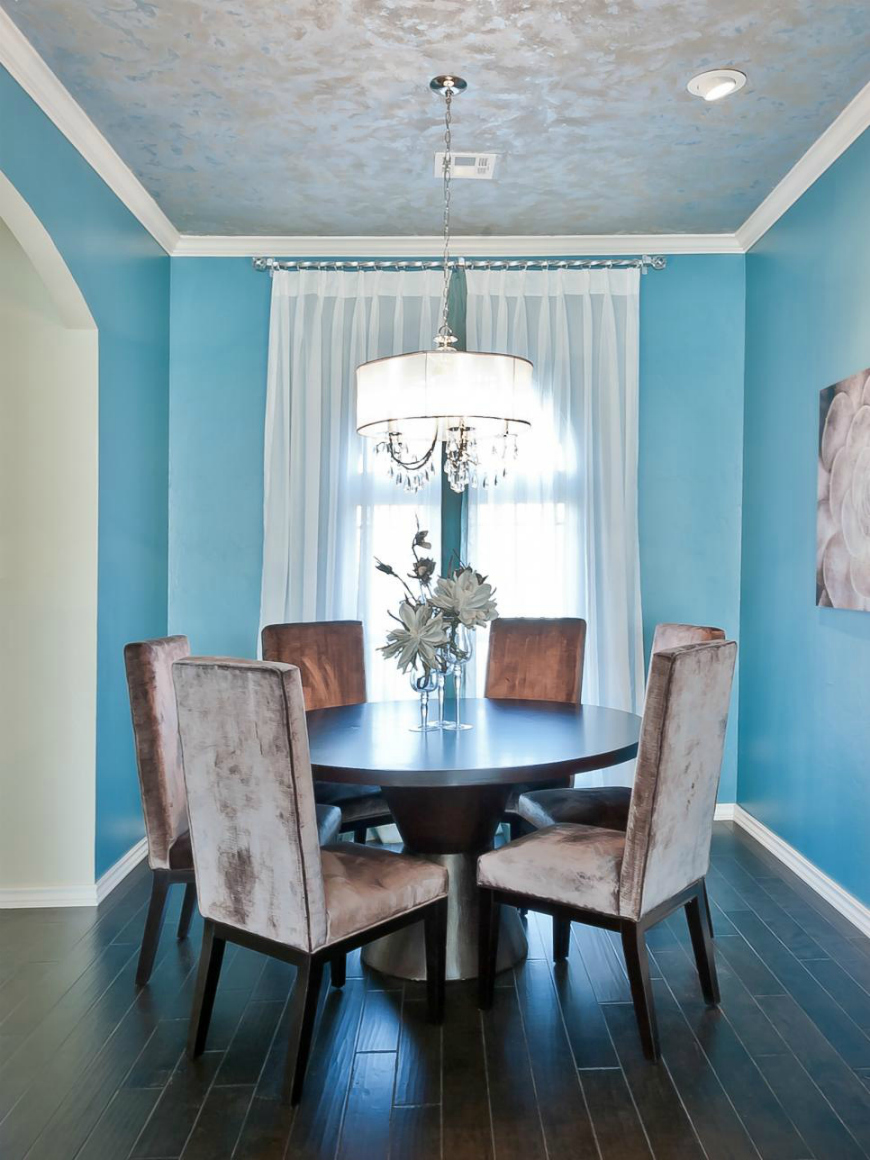 25 Dreamy Ideas To Add Blue To Your Dining Room Decor – Dining ...