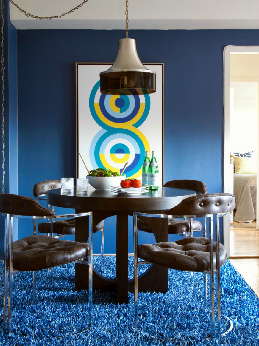 25 Ideas To Add Blue To Your Dining Room Decor dining room decor 25 Dreamy Ideas To Add Blue To Your Dining Room Decor 25 Ideas To Add Blue To Your Dining Room Decor 18 1