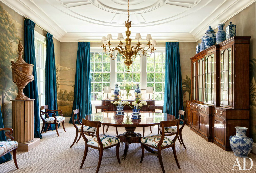 Get Inspired By These Wonderful Traditional Dining Room Ideas dining room ideas Get Inspired By These Wonderful Traditional Dining Room Ideas 25 Ideas To Add Blue To Your Dining Room Decor 5