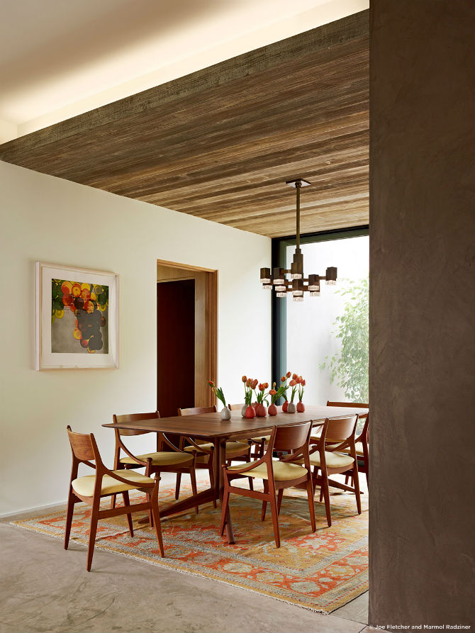 Casual Dining Room Ideas by Marmol Radziner - Dining Room ...