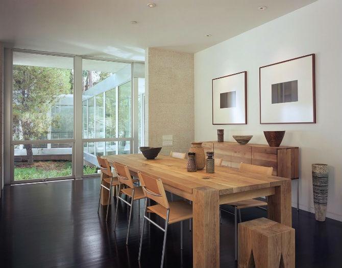 Casual Dining Room By Marmol Radziner Ideas