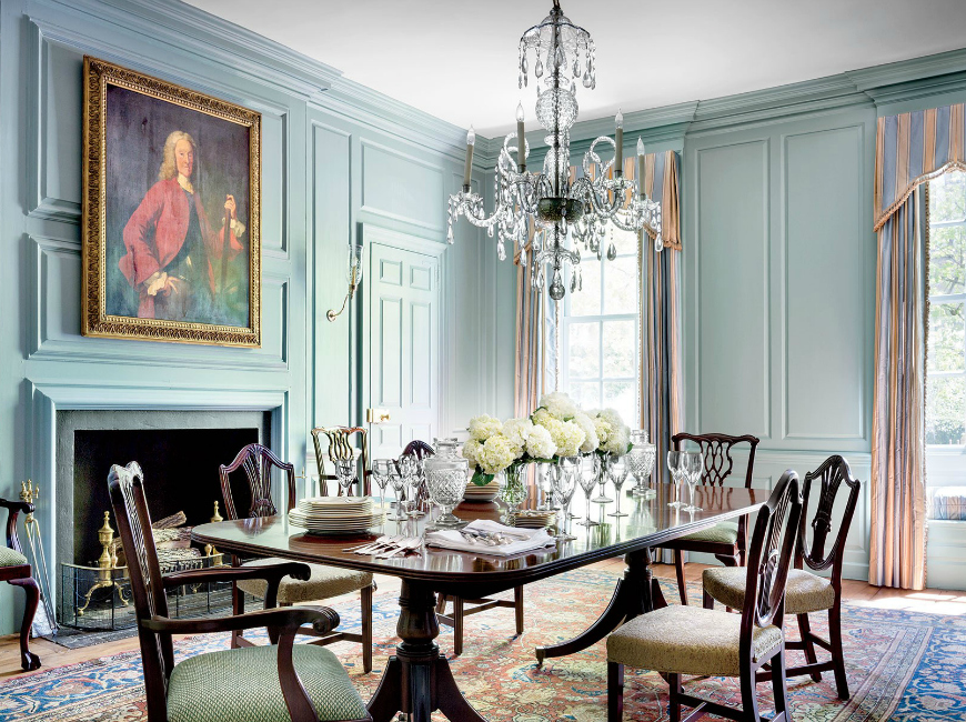 Get Inspired By These Wonderful Traditional Dining Room Ideas dining room ideas Get Inspired By These Wonderful Traditional Dining Room Ideas Glamorous Dining Room Ideas Designed By Gomez Associates 9