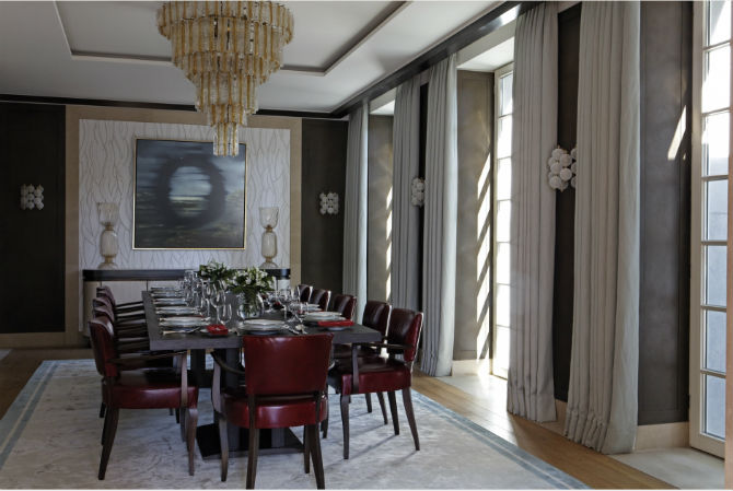 Glamorous Dining Room Sets by Martin Brudnizki Dining Room Sets Glamorous Dining Room Sets by Martin Brudnizki Glamorous Dining Room Sets by Martin Brudnizki 5