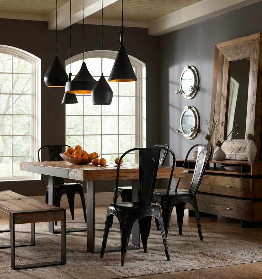 10 Ideas To Create A Trendy Industrial Dining Room Design dining room design 10 Ideas To Create A Trendy Industrial Dining Room Design 10 Ideas To Create A Trendy Industrial Dining Room Design 1