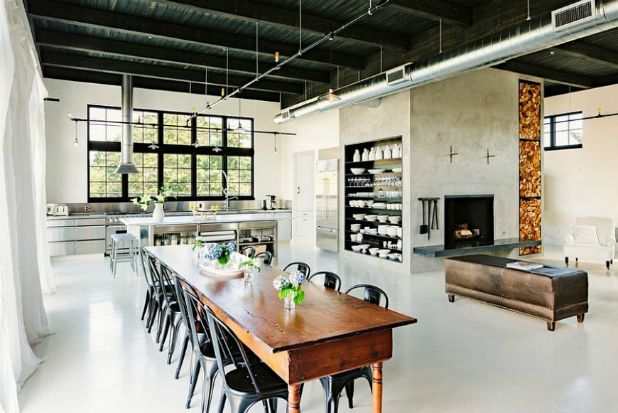 10 Ideas To Create A Trendy Industrial Dining Room Design dining room design 10 Ideas To Create A Trendy Industrial Dining Room Design 10 Ideas To Create A Trendy Industrial Dining Room Design 3