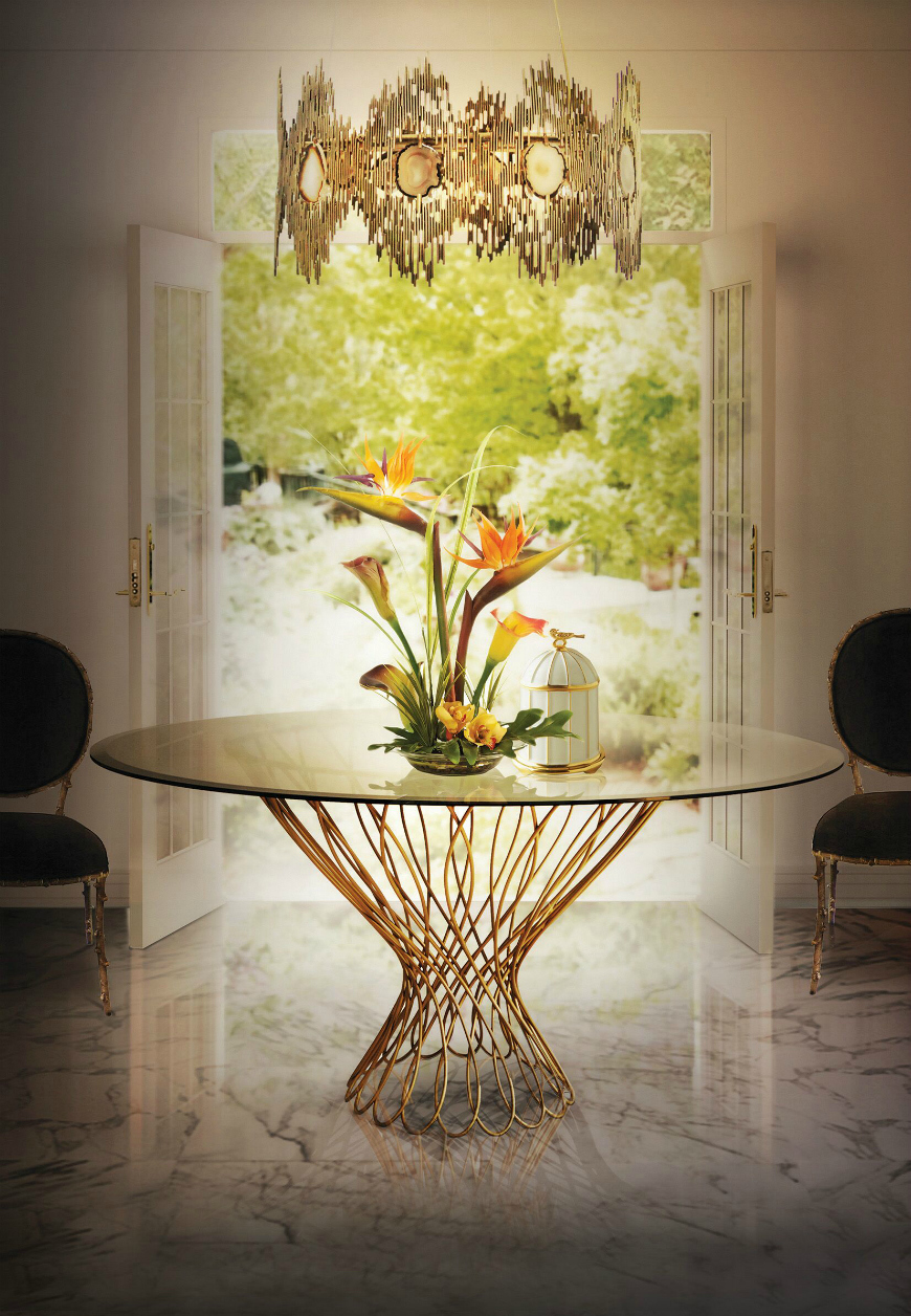 9 Round Dining Tables That Steal The Show round dining tables 9 Round Dining Tables That Steal The Show 10 Sophisticated Glass Dining Tables You Will Want To Have 3