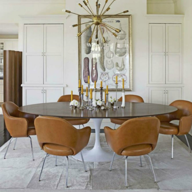 The Most Stunning Dining Room Ideas For Neutral Lovers dining room ideas The Most Stunning Dining Room Ideas For Neutral Lovers Smashing Leather Dining Room Chairs You Will Want To Have 6