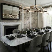 Sober Yet Sophisticated Dining Room Ideas By Staffan Tollgard Design - Notting-hill-house-interior-by-staffan-tollgard-design-group