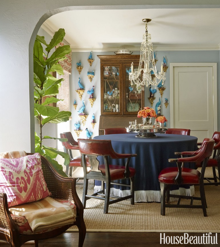 Eclectic dining room set by Mackay Boynton dining room ideas 100 dining room ideas that will make a stunning statement – part I 100 dining room ideas that will make a stunish statement part I 7