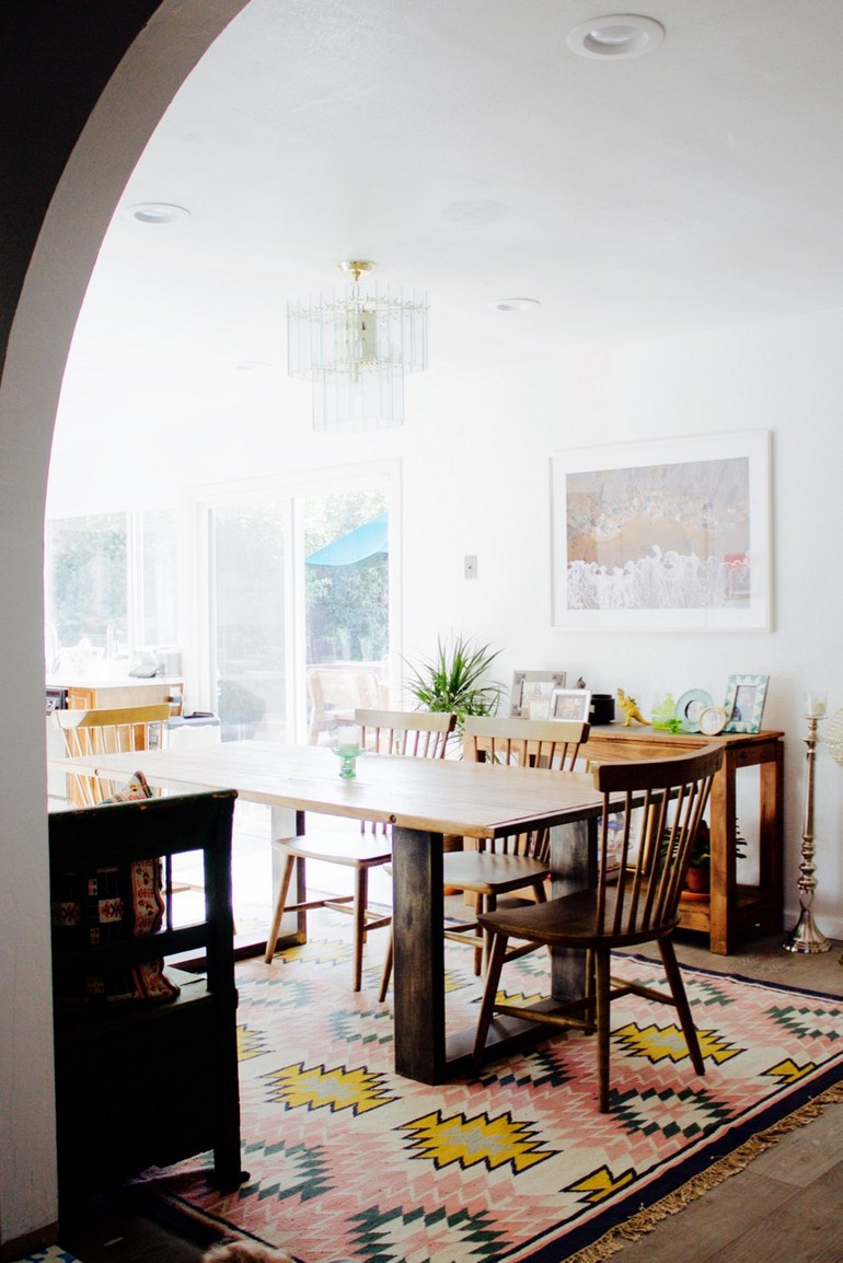 Dining room of Ramshackle Glam blogger Jordan Reid dining room decorating ideas 15 dining room decorating ideas that will caught your eyes 15 dining room decorating ideas that will caught your eyes 3