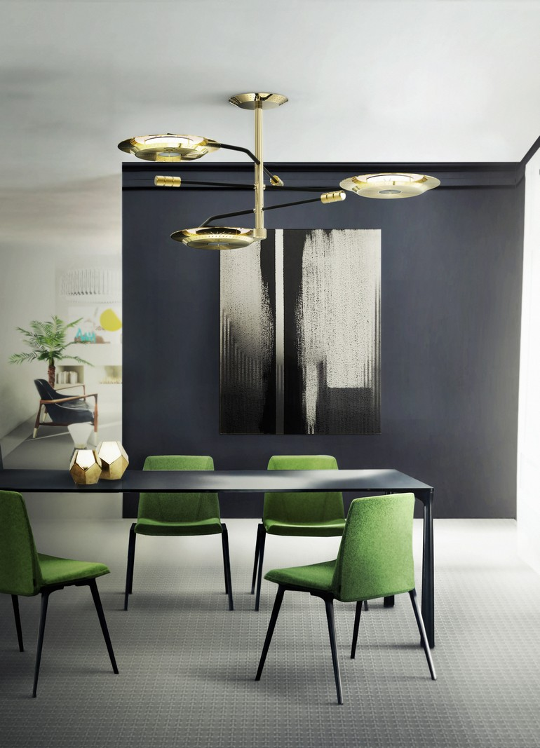 HENDRIX suspension lamp by Delightfull dining room decorating ideas 15 dining room decorating ideas that will caught your eyes 15 dining room decorating ideas that will caught your eyes HENDRIX suspension modern lamp