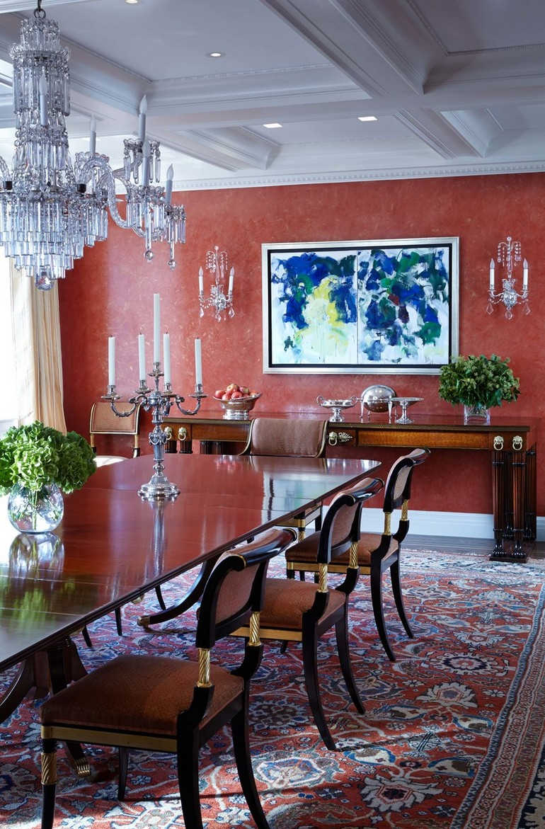 Park Avenue Penthouse duplex New York by Cullman Kravis Dining Room Ideas 7 Sophisticated Dining Room Ideas By Cullman Kravis To Inspire You 7 Sophisticated Dining Room Ideas By Cullman Kravis To Inspire You 5