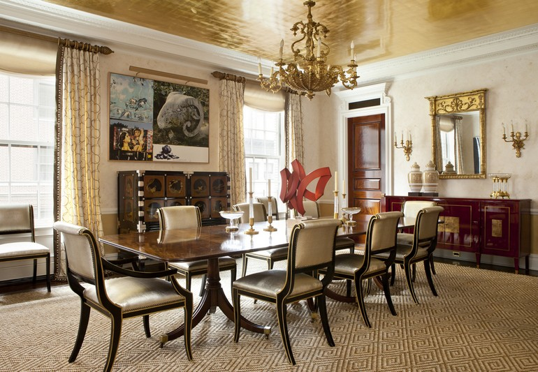 Park Avenue apartment designed by Cullman and Kravis Dining Room Ideas 7 Sophisticated Dining Room Ideas By Cullman Kravis To Inspire You 7 Sophisticated Dining Room Ideas By Cullman Kravis To Inspire You 6