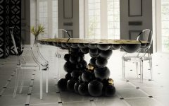 7 Ways A Black Dining Room Table Will Spruce Up Your Space