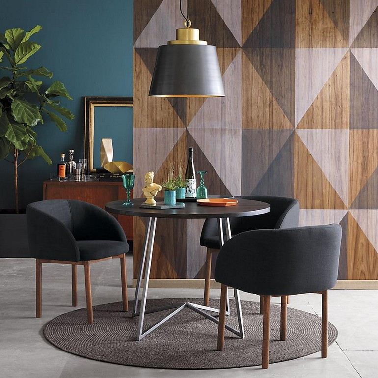 A statement wall makes a dining room stand out dining room decorating ideas 15 dining room decorating ideas that will caught your eyes A statement wall makes a dining room stand out