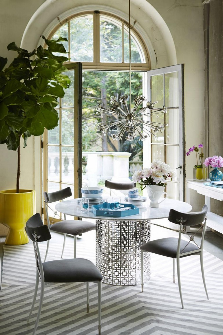Dining room featuring items from Jonathan Adler dining room decorating ideas 15 dining room decorating ideas that will caught your eyes Dining room designed by Jonathan Adler