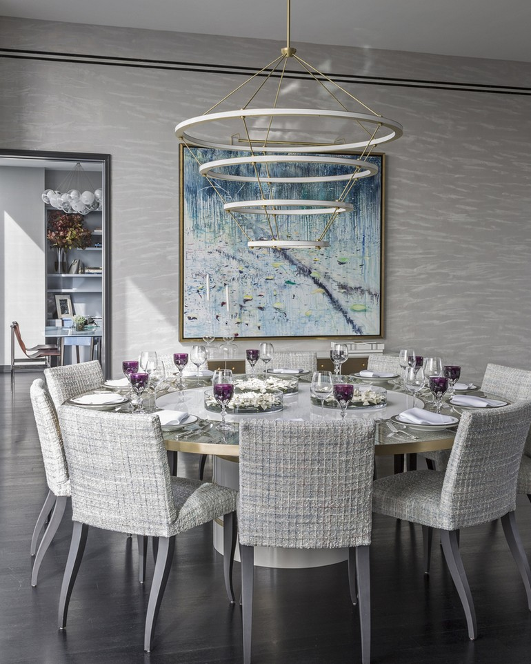 Modern dining room ideas by Jamie Drake dining room ideas Sophisticated dining room ideas by Jamie Drake to inspire you Sophisticated dining room ideas by Jamie Drake to inspire you 3