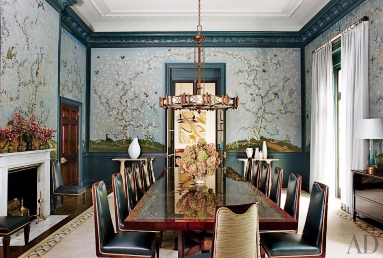 Amazing Interiors with Large Dining Room Tables Dining Room Tables 8 Amazing Interiors With Large Dining Room Tables The Most Amazing Dining Room Sets Designed For Entertaining 6