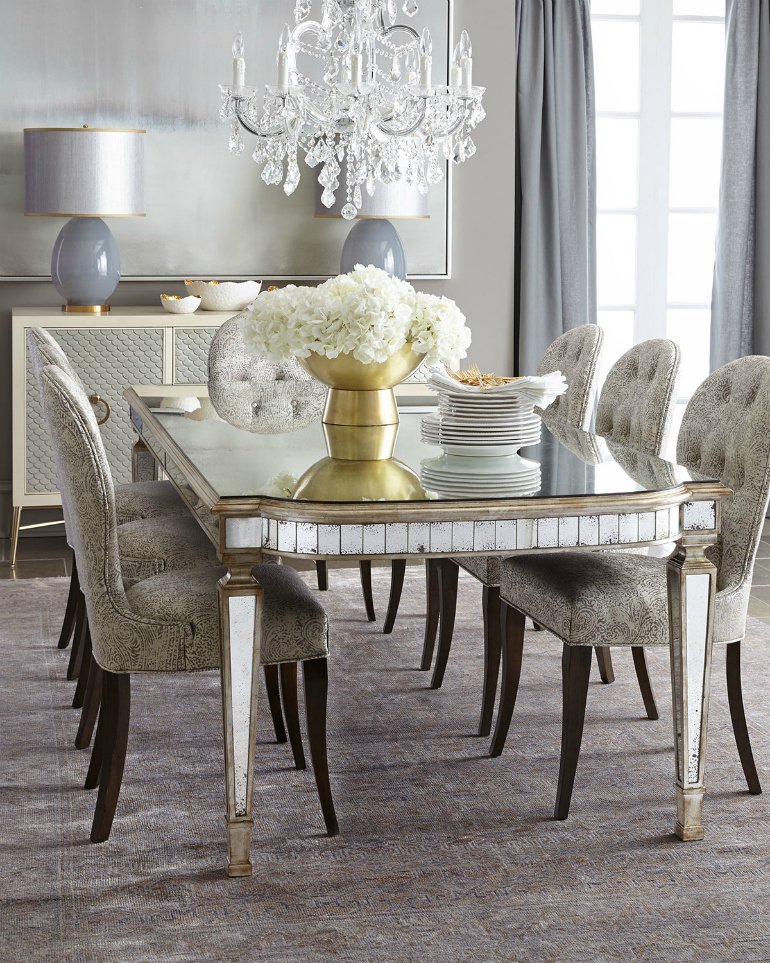 The Most Dazzling Mirrored Dining Room Table Ideas That You Will Covet dining room table The Most Dazzling Mirrored Dining Room Table Ideas That You Will Covet The Most Dazzling Mirrored Dining Room Table Ideas That You Will Covet 1