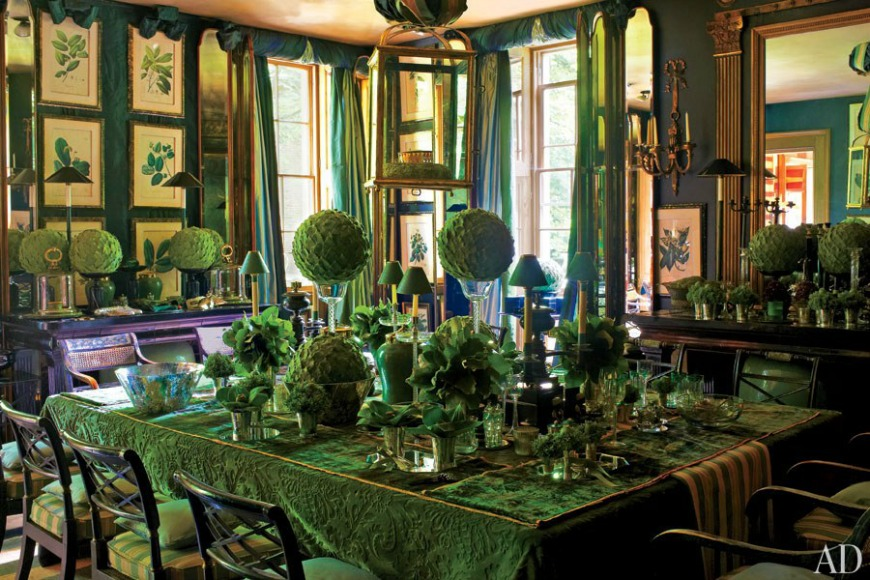 10 dining rooms from Architectural Digest