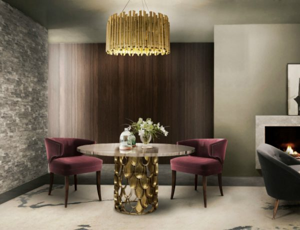 Dining Room Design Ideas With Beautiful Autumn Colors