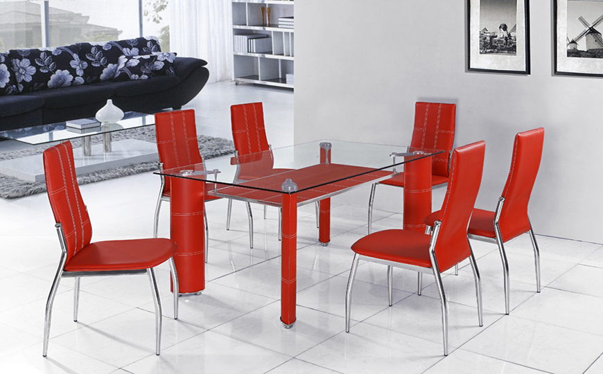 How to Decorate Dining Room Sets with Dramatic Feel
