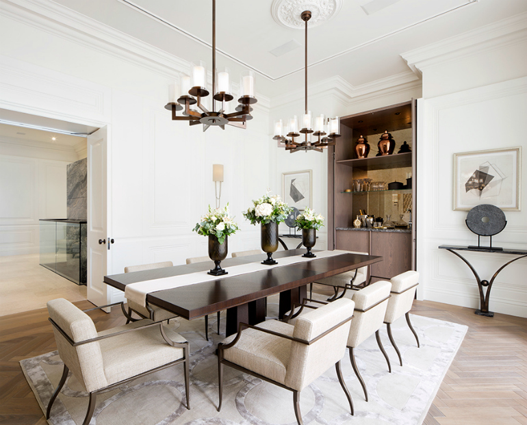 Amazing Interiors with Large Dining Room Tables Dining Room Tables 8 Amazing Interiors With Large Dining Room Tables The Most Stunning Dining Room Sets In London 7